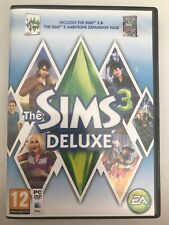 THE SIMS 3 Deluxe With AMBITIONS Expansion Pack PC / MAC UK - TESTED - FREE P&P!