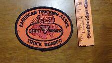VINTAGE AMERICAN TRUCKING ASSN SAFE DRIVER TRUCK ROADEO  PATCH BX B #1