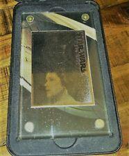 Star Wars 24k Gold Card Princess Leia Organa (1997) COA 152/1977