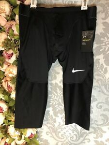 Men's Nike Pro Aeroadapt Compression Shorts Running Jogging Size Large  Black