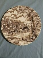 Royal Mail Fine Staffordshire Ironstone Plate