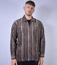 XL Vintage Camp David Post Malone Style Jumbo Corduroy Shirt