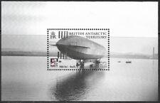 E60] British Antarctic Territory 2009 Naval Aviation Mini Sheet unmounted mint