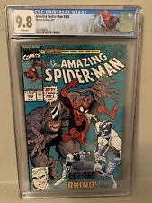 Amazing Spider-Man #344 CGC 9.8 1st App Cletus Kasady (Carnage) Limited NY Label
