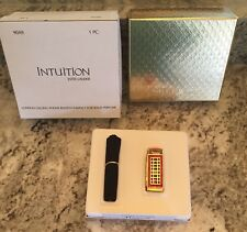 ESTEE LAUDER HARRODS LONDON PHONE SOLID PERFUME COMPACT BOTH BOXES