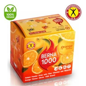 Nature Gift Berna 1000 Orange Natural Weight Loss Slimming Drinks 10 Sachets
