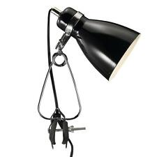 Designer Clip light Cyclone Nordlux E14 black Reading lamp Clamp Table Lamp