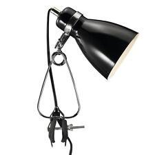 Designer Klemmleuchte Cyclone Nordlux E14 schwarz Leseleuchte Klemm Tisch Lampe