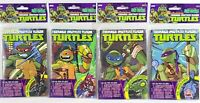 Lot of 4 TMNT Micro Comic Fun Packs IDW Nickelodeon Teenage Mutant Ninja Turtles