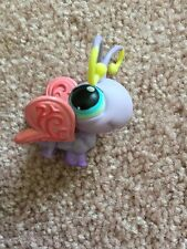 Littlest Pet Shop LPS Purple Butterfly #93 Pink Wings And Blue Eyes Hasbro