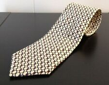 "Strathmore All Silk Chain Pattern White 56"" Tie"
