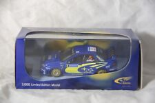 Scale Model Subaru WRC Sweden 2005 Petter Solberg Official Collection 1408/3000