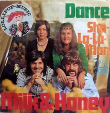 "7"" 1975 CV ABBA RARE IN VG+ ! MILK & Honey : Dance"