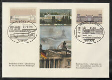 G-001) Germany 1986 / 2 beautiful special Cover - SST Bonn and Berlin