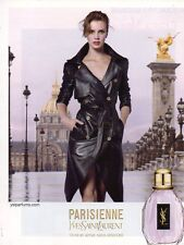 Publicité Advertising 2011  Parfum PARISIENNE de YVES SAINT LAURENT