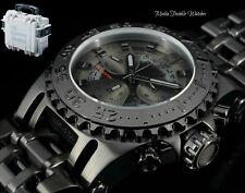 52MM Invicta JT CHAOS Limited Ed. COMBAT BLACK Quartz Chronograph Watch + W/CASE