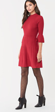 Diane Von Furstenberg DVF red knitted dress 2020 Sella Rhuba NewTags £451