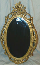 New ListingVintage Syroco Art Nouveau Style Wall Hanging Mirror 1965 Dated Mid Century Deco
