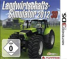 Nintendo 3ds sectores agrícola simulador 2012 3d alemán como nuevo