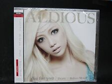 ALDIOUS Die For You + 3 JAPAN CD + DVD Mari Hamada Show-ya Raglaia Cyntia