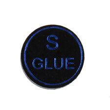 High Quality Pigskin Leather Billiard Pool Cue Tips Black 13mm Soft