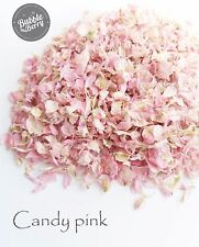 1200 + Delphinium confetti Petals biodegradable Natural Candy pink