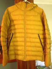 Arcteryx Cerium LT Hoody Men's Jacket Medium M Golden Palm Yellow