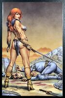 🔥🗡 RED SONJA #17 JOSEPH MICHAEL LINSNER Virgin Variant NM Vampirella IN HAND
