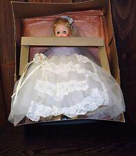 Madame Alexander doll Bride  original box and metal stand #1565