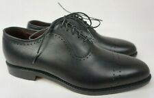 Allen Edmonds Arlington Black Leather Cap Toe Men's Oxford Shoes Size 7 D