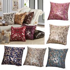 Vintage Tree Cotton Linen Pillow Case Elegant Home Sofa Car Decor Cushion Covers