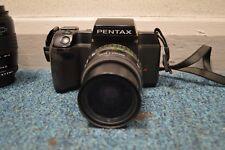 Pentax SF7 Paquete Con Pentax 28-80 mm & Sigma Zoom-K 70-210 mm Con Bolsa De Cobra