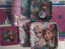 Frozen Disney Anniversaire Fête Supply Super Kit Avec / Traiter Sacs, Ballons &