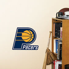 """Indiana Pacers 12""""x10"""" Fathead Nba Team Logo Teammate Vinyl Wall Graphics Decal"""