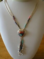 STERLING SILVER SUNI STYLE NECKLACE