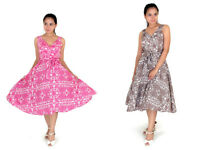 New Ladies Dress 50's Prom Swing Vintage Rockabilly Party Paisley Size 10 - 18