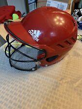 Adidas Batting Helmet Urs-600 Red 56-60 cm. Adjustable.