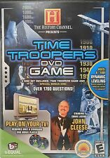 DVD Game THE HISTORY CHANNEL TIME TROOPERS Interactive Trivia Bonus Disk NEW