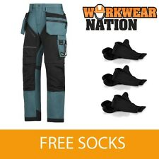 Pantaloni da uomo blu Snickers in cotone
