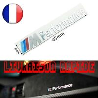 2 Pcs Voiture M Performance Aluminium Autocollants Stickers BMW X1 Voiture Style