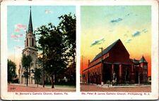 Easton's St. Bernard's & P-Burg's St. Peter & James Churches A04-06