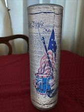 Vintage We The People Bicentennial Candle with the Us Constitution on it