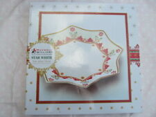 Maxwell & Williams Christmas STAR WHITE PLATE Claire Chilcott Platter BOXED