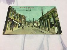 Old Postcard  Burnley Road Mytholmroyd