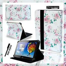 """Folio Stand Leather Cover Case For Various Acer Iconia 7"""" 8"""" 10"""" Tablet+ STYLUS"""