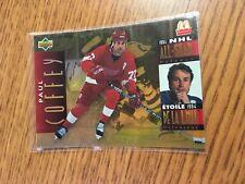 UPPER DECK HOCKEY 1995 PAUL COFFEY MCDONALD'S NHL ALL STAR CARD 19