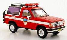 wonderful diecast modelcar FORD BRONCO 1989 CAMDEN BATTALION CHIEF - red - 1/43