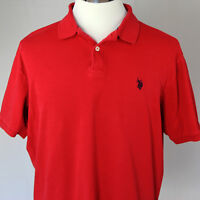 US Polo Assn Mens Red Polo Shirt Large New with out tags