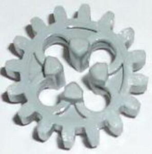 LEGO 2x Technic Ingranaggio 16 Denti GRIGIO CHIARO 4019