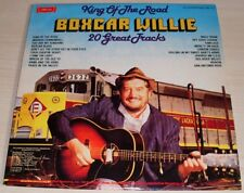 BOXCAR WILLIE KING OF THE ROAD 20 GREAT TRACKS 1980 SUFFOLK RECORDS SMI-1-24K
